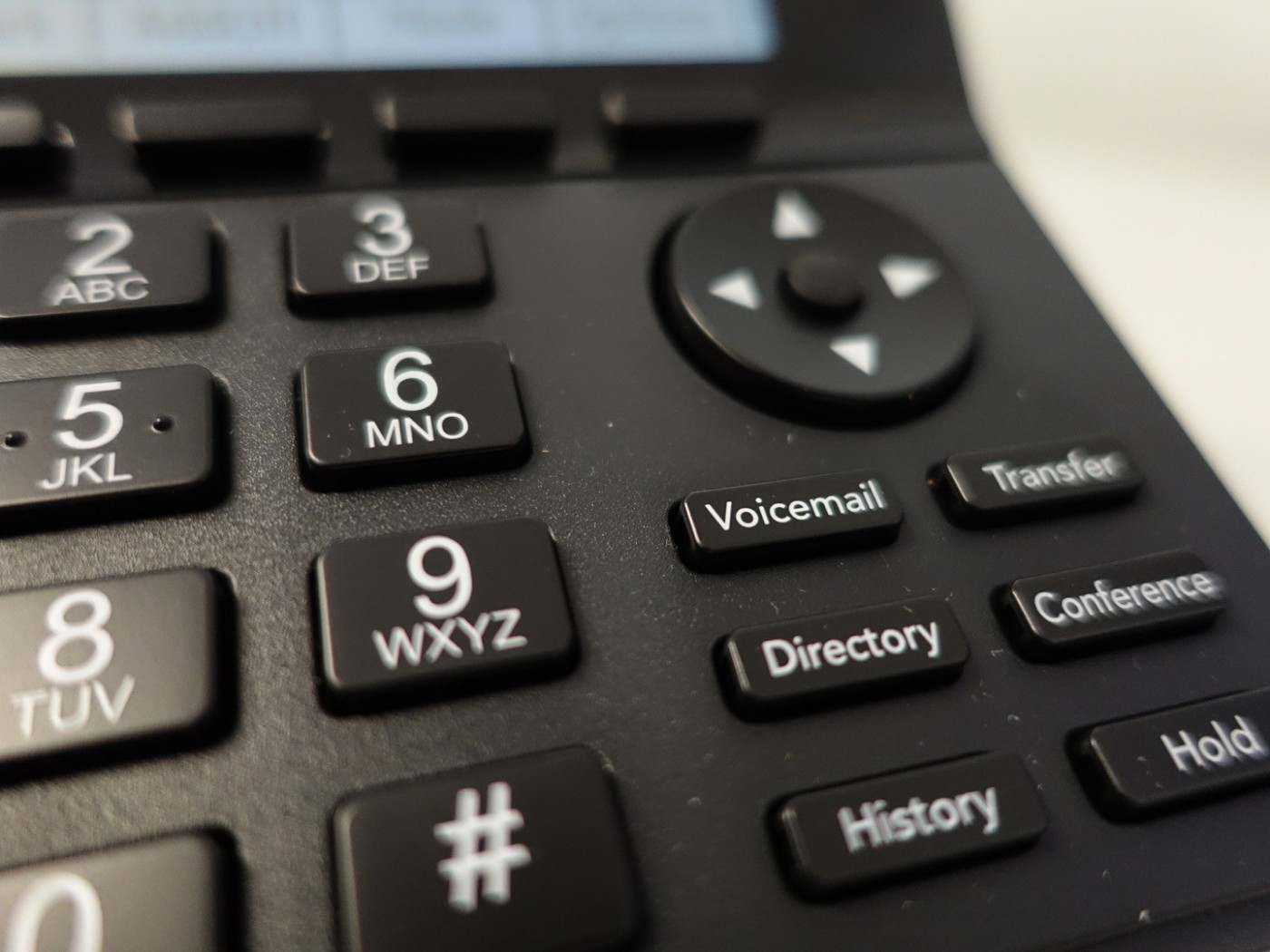 Phone - Voicemail physical button