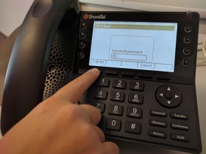 Phone - Call Voicemail Soft Button
