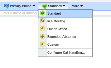 Phone Response Meeting Settings
