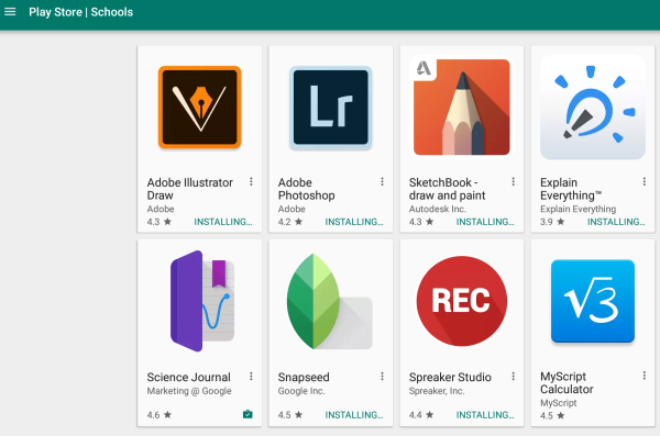 Google Play - Installing Android apps